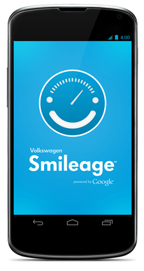 Smileage logo in mobile screen